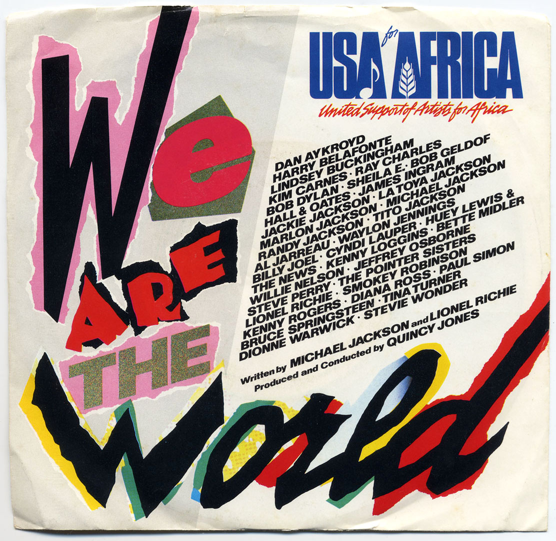 [80's] U.S.A. for Africa - We Are the World (1985) USA%20for%20Africa%20-%20We%20Are%20the%20World%20singles